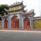 Cổng từ đường mới thờ Cụ thủy Tổ họ Ngô Bái Dương Tiến sỹ Ngô Bật Lượng